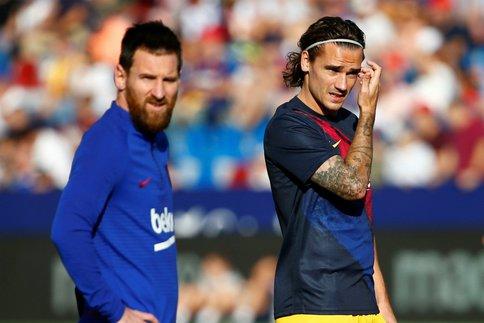 Messi et Griezmann. (Reuters)